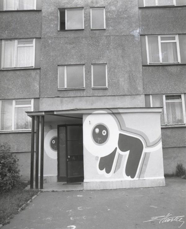 Bloki mieszkalne dzielnicy LSM