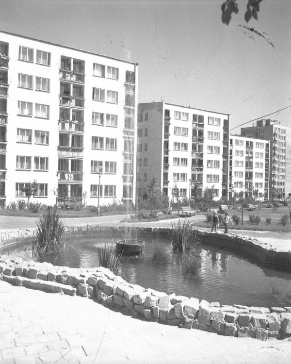 Zabudowa dzielnicy LSM