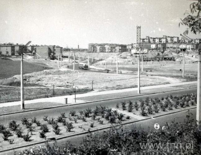 Budowa osiedla im. A. Mickiewicza na LSM