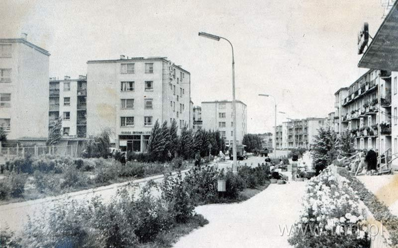 Ulica Grażyny na osiedlu im. A. Mickiewicza w Lublinie