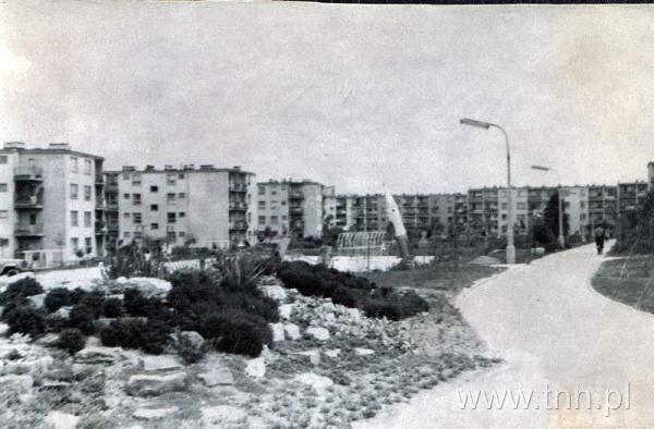 Plac zabaw na osiedlu im. A. Mickiewicza w Lublinie