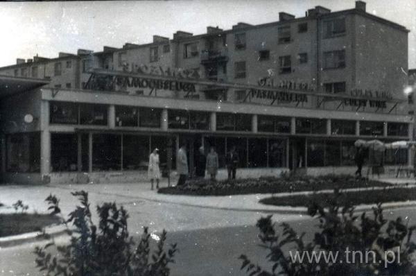 Pawilony handowe na osiedlu A. Mickiewicza w Lublinie