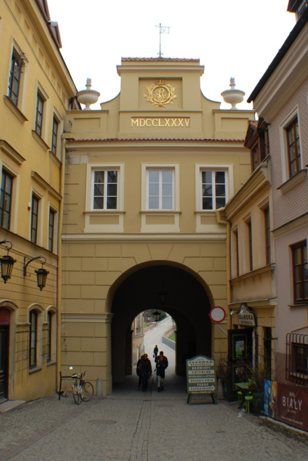 The Grodzka Gate in Lublin