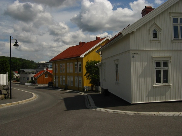 Larvik, the architecture of Asylgata