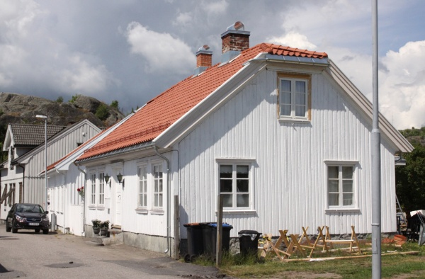 Wooden architecture of Larvik