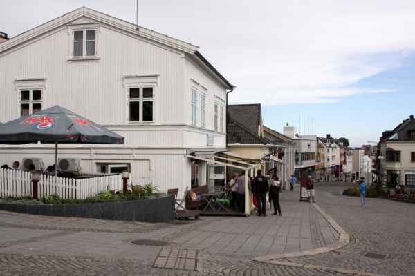 Larvik, view of the city centre