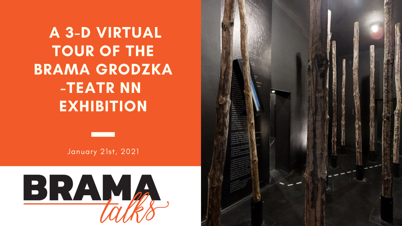 Brama Talks: A 3-D virtual tour of the Brama Grodzka-Teatr NN exhibition