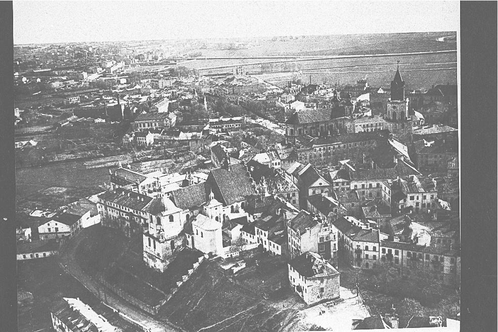 Zdjęcie Lotnicze Starego Miasta I żmigrodu Lata 30 Xx W