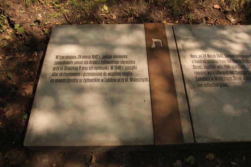 Miejsce egzekucji dzieci z ochronki