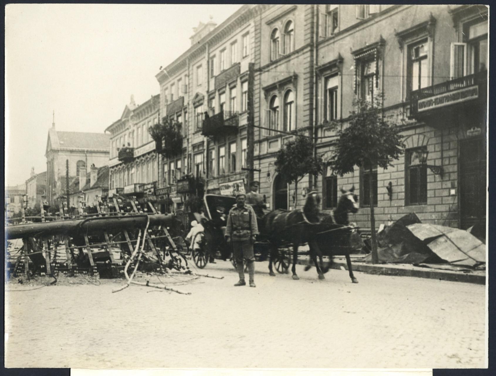 Zdjęcie z historią [2]: Krakowskie Przedmieście w sierpniu 1915