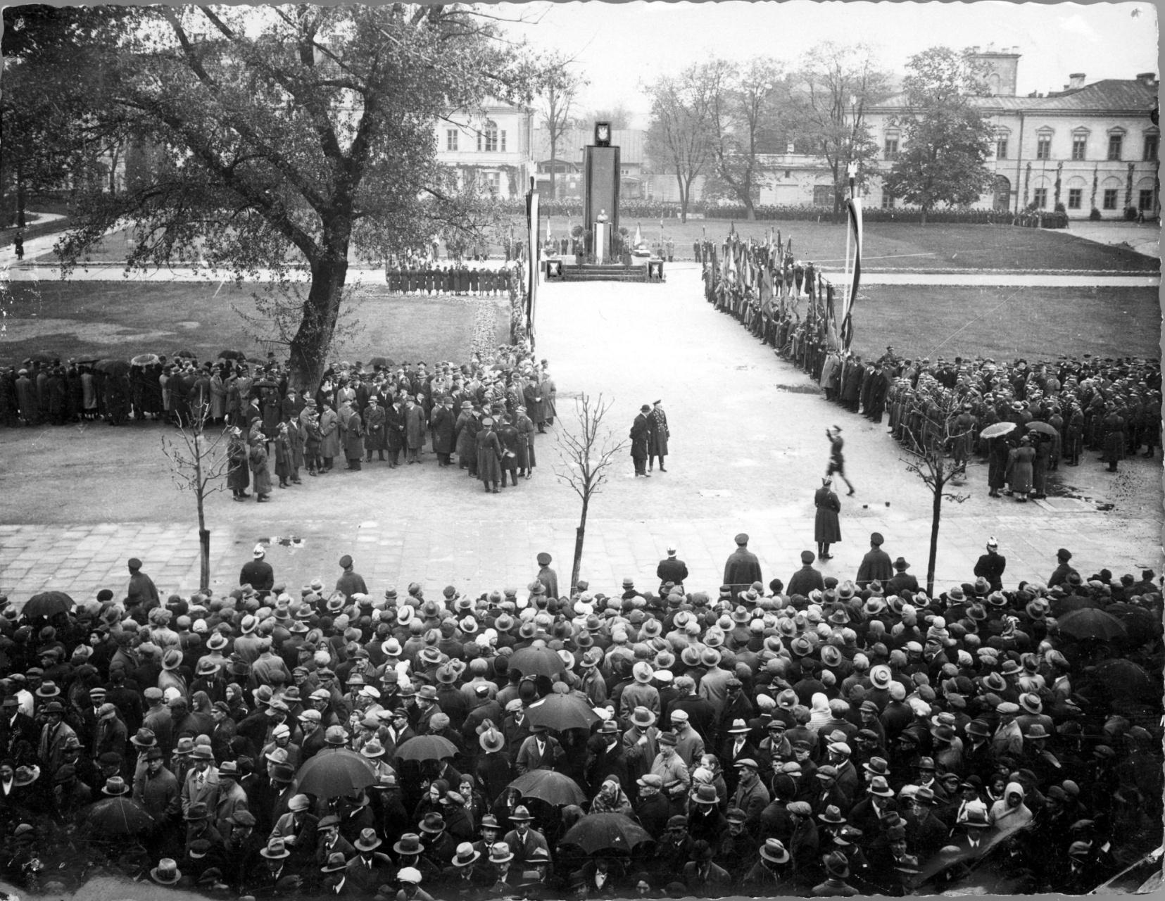 Uroczystości żałobne ku czci marszałka Józefa Piłsudskiego w Lublinie