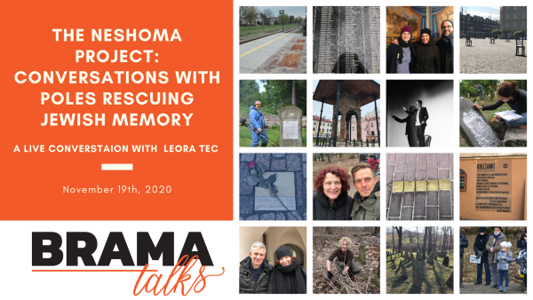 Brama Talks: The Neshoma Project - Conversations with Poles Rescuing Jewish Memory
