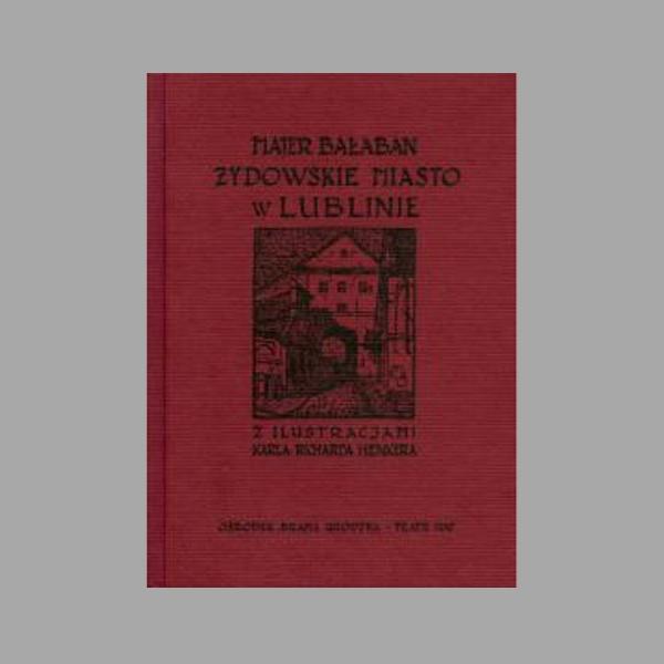 Publikacje Ośrodka dotyczące historii Żydów