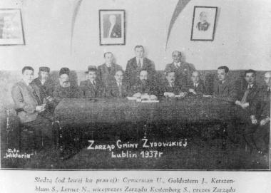 Historia gminy żydowskiej w dwudziestoleciu międzywojennym