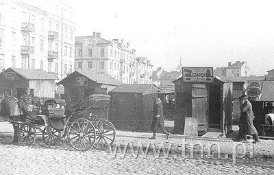Nowy plac targowy przy ulicy Lubartowskiej, Fot. S. Kiełsznia, 1938