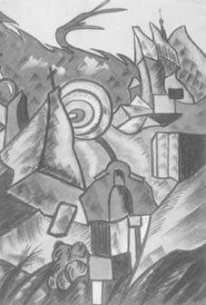 Henryk Lewensztadt, Kazimierz n. Wisłą, 1927, pastel. Ze zbiorów Gabinetu Rycin Muzeum Lubelskiego. Repr. Piotr Maciuk.