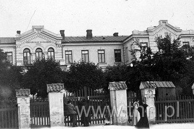 Szpital żydowski, ok. 1900 r.