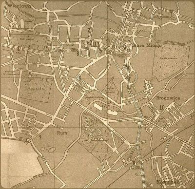 Mapa Lublina z 1959 r.