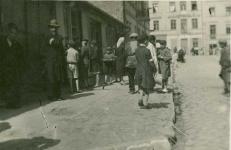 Ulica Cyrulicza w 1940 roku