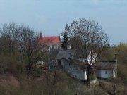 Białkowska Górka. Widok na kościół św. Agnieszki