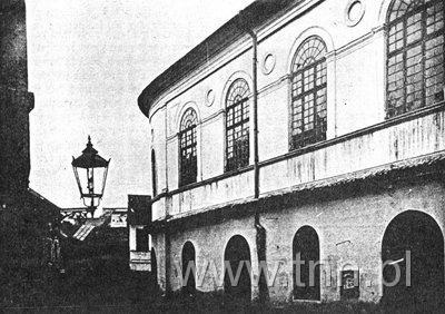 elewacja zachodnia Synagogi Maharszala